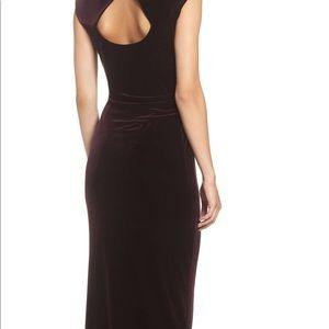 Vince Camuto Dresses - Vince Camuto Purple Cowlneck Gown SZ 2